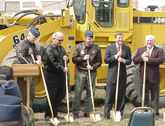 Grand Forks Air Force Base Groundbreaking